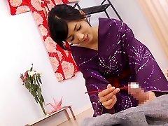 Exotic Japanese whore Nozomi Aso in Unbelievable cumshots, cfnm JAV video