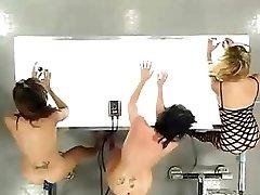 Three Girls And The Dildo Machines