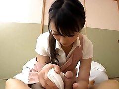 Japanese beautiful palace maid