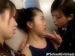 Immensely hot japanese schoolgirls