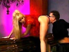 Super-sexy pornstar Zasu Knight in incredible blonde, facial adult video