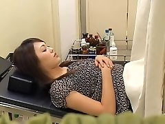 Uber-cute hairy Chinese broad gets fucked by her gynecologist
