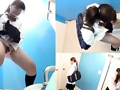 Japanese teen peeing