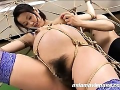 Bizarre Pregnant Fetish Bondage Fuck AV