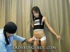 Thai Transgirl Supersize Penis