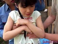 Flexible facialized asian teenies mmf threeway