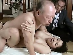 Hardcore grandpa nails young babe