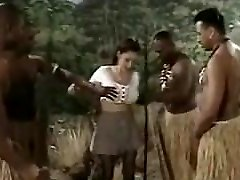 China Ebony Gangbang