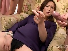 Busty Asian MILF Mass Ejaculation