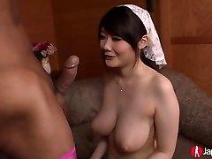 Busty Japanese Teen Rie Tachikawa Gets Plumbed