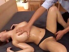 Mischievous Japanese slut Mako Oda in Amazing Cunnilingus, First-timer JAV video