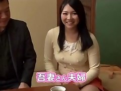 Japanese couples interchanging