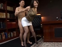 Japanese Office Slut Fucked Rock-hard