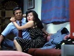 Asian dominatrix wife cuckolds hubby