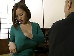 Ruri Saijou in Enjoy Dad In Law More Than Husband part 1.2
