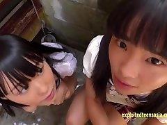 Petite Jav Teenager Schoolgirls Rina And Asami