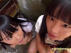 Petite Jav Teenie Schoolgirls Rina And Asami