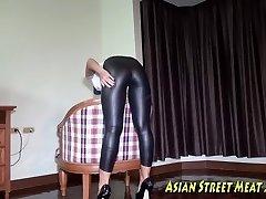 Crucifixion Enacted In Asian Sheer Pleasure
