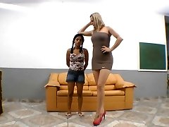 Brazilian severe trampling sole domination