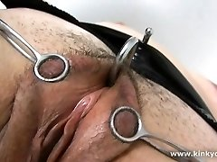 Bound nipples and spurting orgasms