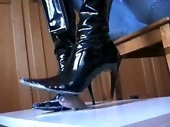 Black shoes shoejob