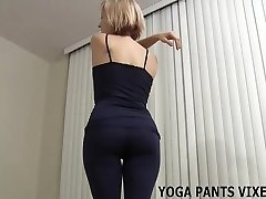 My chubby caboose just swallows these yoga pants JOI