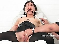 Medical fetish of asian Mei Mara in extreme bizarre Domination & Submission