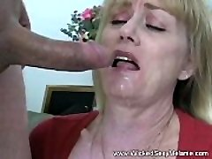 Slut Stepmother Fucks Stepson
