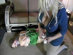 babysitter strapped