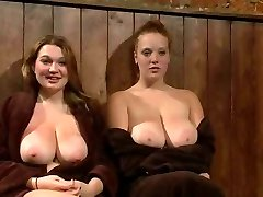 Huge Titted Redhead And Buddy Publicly Punished