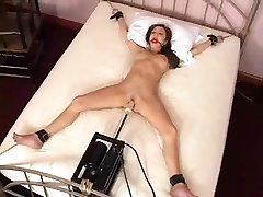 Charlie Laine Strapped To Bed And Banged By Machine