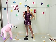 Fucking machines raw first-ever time Talent Ho