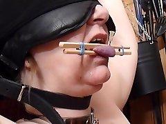 Victim's Tongue torture