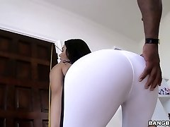 Sporty and fit Valentina Nappi blacked brutally in hardcore clip