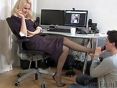 office nylon soles worship