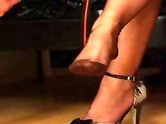 Fully Fashioned Nylon Stockings Foot Worship
