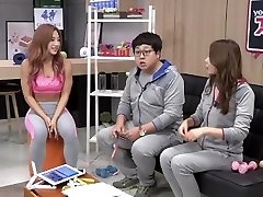 Korean Fitness Doll Shim E. on tv program 01