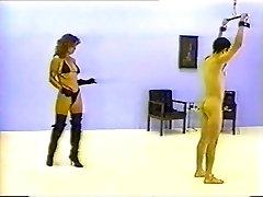 dominatrix Alex whips David