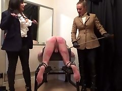 Double Domme Caning