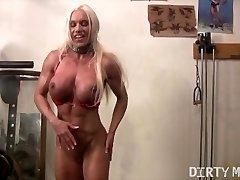 Ashlee Chambers Masturbates in the Gym