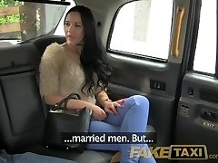 FakeTaxi Horny mistress needs monstrous cock