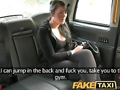 FakeTaxi Girl wants to pay with her hatch instead of her money