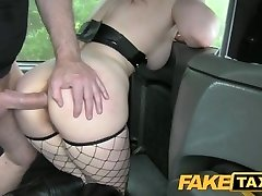 Faux Taxi Kinky customer underwear fetish