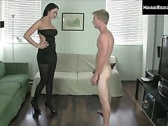 Alexis Wins a Ballbusting Hj Bet