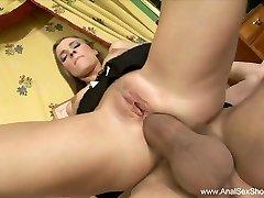 Latina Maid Rough Ass Fucking Punishment
