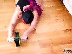 Pulverizes big white dick Ass-Marionette Yoga