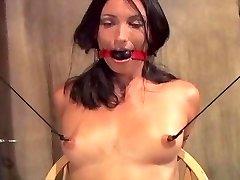 Bound Giant Nipple Slut!!!!!!!