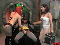 GoGo Nymphs VS Batman Female Domination SUPERHEROINE CBT DANCING