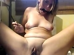 BDSM fetish ash-blonde gimp Darling makes out