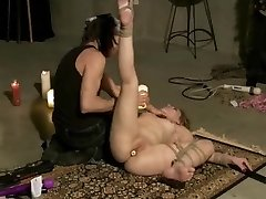 Tied Hot Waxed Flogged And Toyed